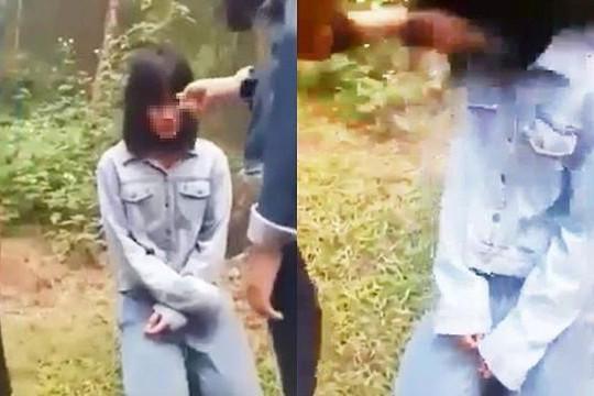 Nữ sinh lớp 7 ở Nghệ An bị nhóm bạn đánh và bắt quỳ xin lỗi
