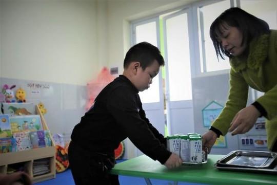 Sữa học đường Hà Nội: Ấn tượng những con số ban đầu