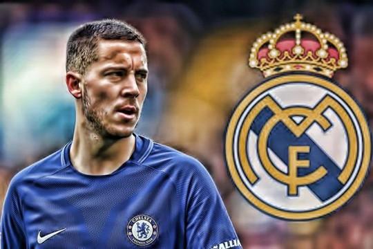 Real Madrid sắp có Eden Hazard trong bản hợp đồng kéo dài 6 năm