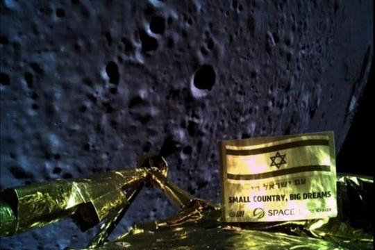Tàu vũ trụ Israel bị trục trặc khi đổ bộ xuống bề mặt Mặt trăng
