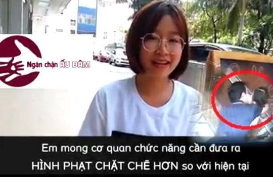 Cô gái nhỏ mạnh mẽ lên tiếng chống nạn ấu dâm, ông Nguyễn Hữu Linh có xấu hổ?