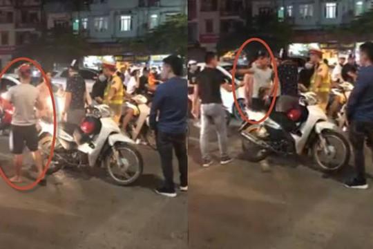 Sờ mông cô gái xinh ở Hà Nội, kẻ bệnh hoạn được CSGT cho đi để tránh tắc đường