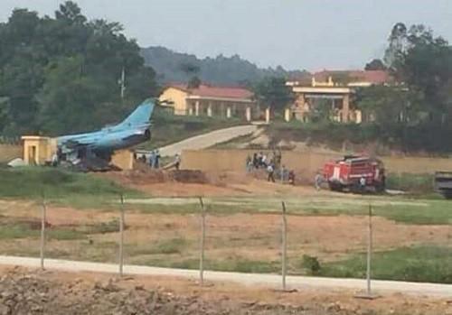 Yên Bái: Tai nạn khi huấn luyện bay tại Trung đoàn không quân 921