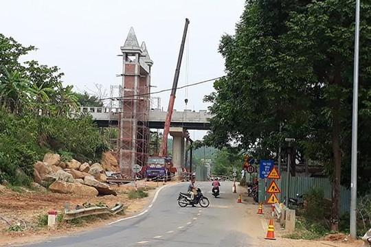 Tổng cục Đường bộ đang kiểm tra dự án cầu vượt bắc qua QL14G