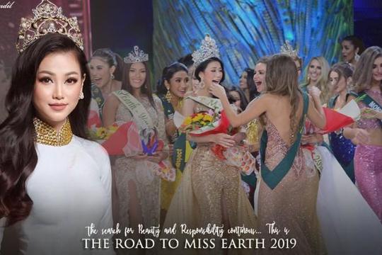 Hoa hậu Phương Khánh tích cực tìm người kế vị vương miện Miss Earth 2019