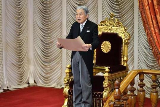 Nhật hoàng Akihito sẽ thực hiện lễ thoái vị vào chiều nay