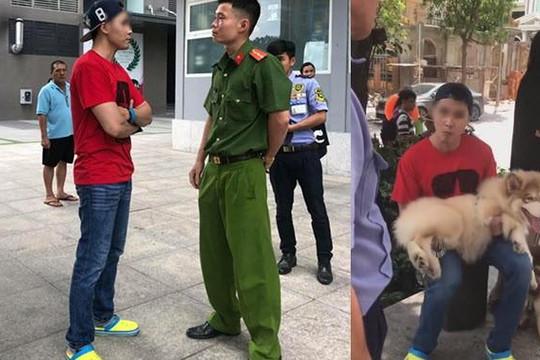 Bị công an nhắc vì dắt chó không rọ mõm, gã Việt kiều nói 'Phạt 100 triệu không sao'