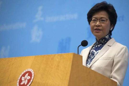 Lãnh đạo Hong Kong quyết thúc đẩy dự luật dẫn độ