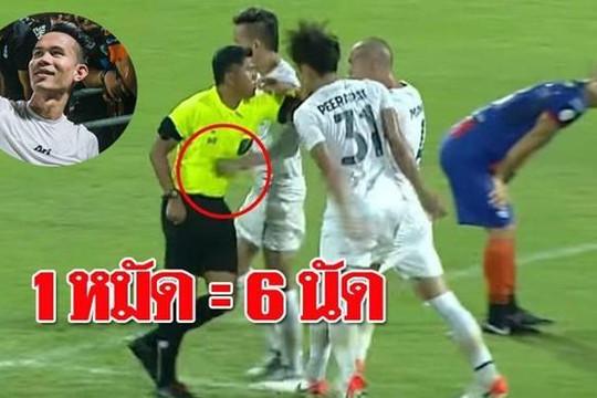 Quyến thắng Việt Nam ở King's Cup, Thái Lan xóa án treo giò tuyển thủ đấm trọng tài