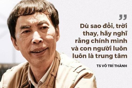 TS. Võ Trí Thành nói về Trung Nguyên, sách 'đổi đời' và về thời đại khiến nhiều người 'mất đi xúc cảm'