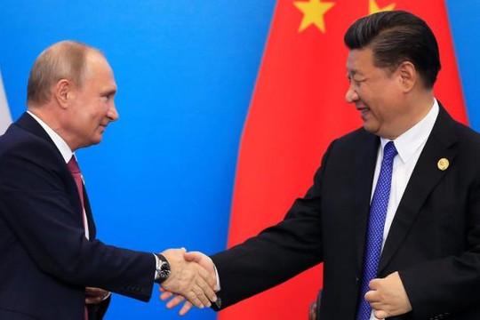 Trung Quốc sắp ký kết 30 thỏa thuận với Nga giữa lúc căng thẳng với Mỹ