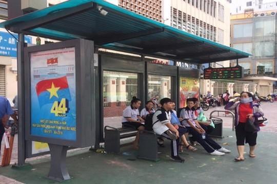 TP.HCM có nhà chờ xe buýt kiểu mới
