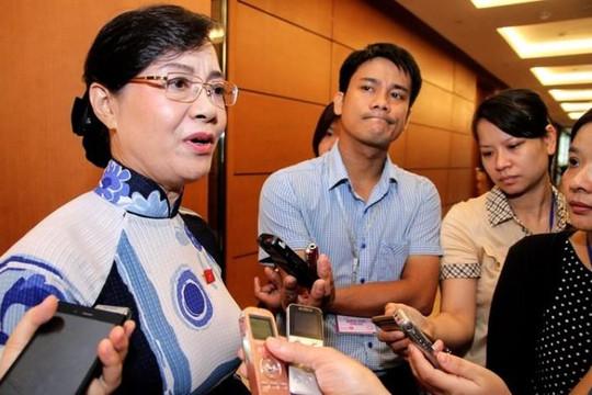 ĐBQH Nguyễn Thị Quyết Tâm: Quyết định từ chức của ông Hải thiếu tôn trọng tổ chức