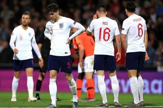 Tuyển Anh lỗi hẹn với chung kết châu Âu