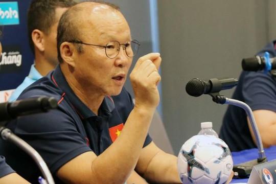 HLV Park Hang-seo bất ngờ huỷ bỏ cuộc họp báo sau trận chung kết King's Cup