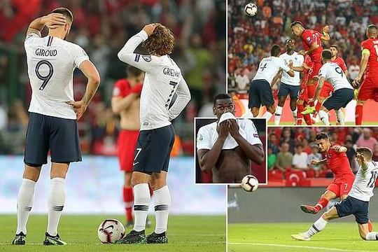 ĐKVĐ World Cup Pháp thua sốc tại vòng loại Euro
