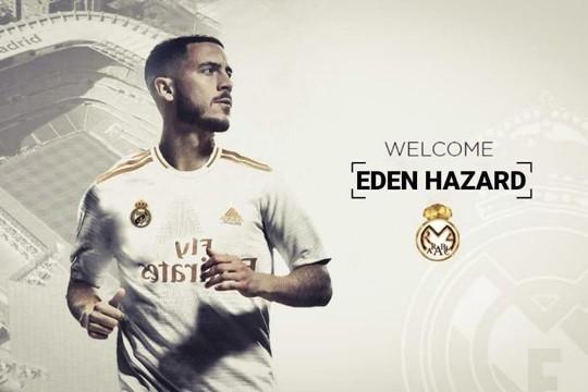 De Bruyne và Courtois chúc mừng Hazard đến Real Madrid
