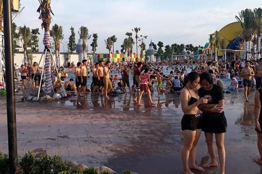 Một bé trai bị đuối nước tại công viên nước lớn nhất nhì Hà Nội
