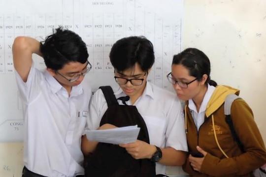 TPHCM: Hơn 99% thí sinh tham dự 2 môn thi đầu tiên kỳ thi THPT quốc gia năm 2019