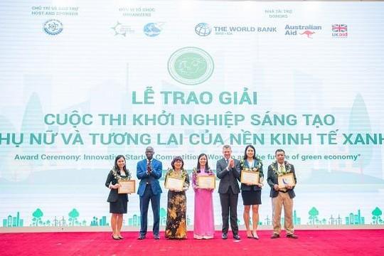 Vinh danh DN với sáng kiến đổi mới nhằm ứng phó với biến đổi khí hậu