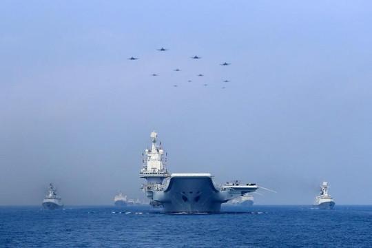 Tàu chiến Trung Quốc tiếp tục đi qua eo biển Đài Loan