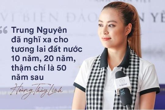 Ca sĩ Hoàng Thùy Linh: Có hai điều này, sức mạnh người lính sẽ nhân lên gấp nhiều lần!