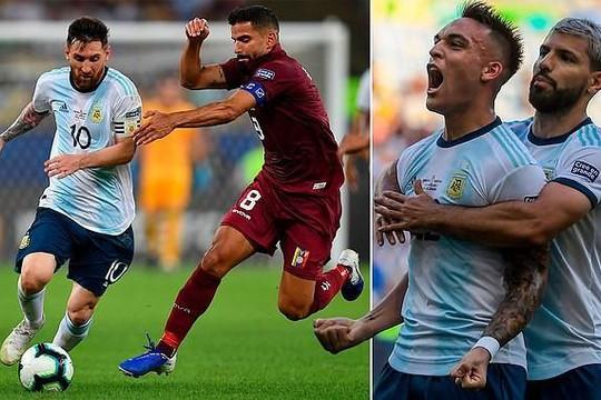 Messi tịt ngòi, Argentina tiếp tục thắng để gặp Brazil tại bán kết Copa America