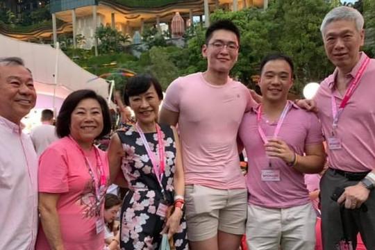 Con trai và cháu nội Lý Quang Diệu tham dự sự kiện LGBT lớn nhất Đông Nam Á