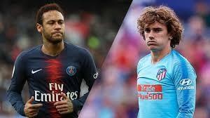 Barcelona đàm phán mua Griezmann, Neymar tạo dáng trong áo đấu mới của PSG