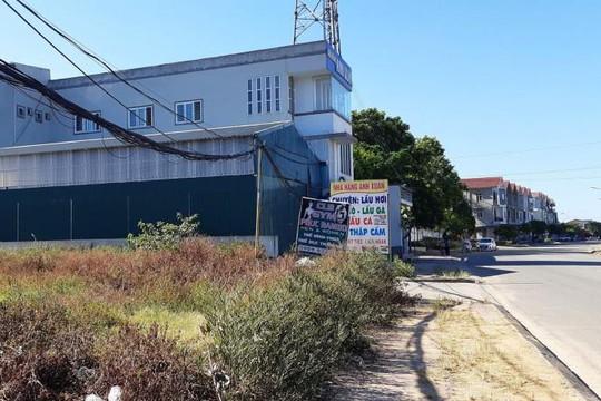 Gần 5.000 mét vuông đất quốc phòng ở Hà Tĩnh bị phân lô bán nền