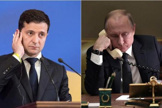 Tổng thống Nga Putin lần đầu tiên điện đàm với Tổng thống Ukraine Zelensky