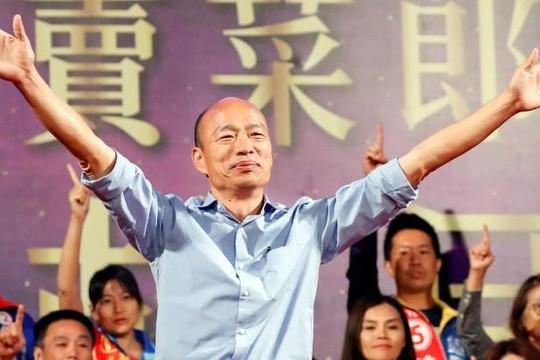 Ứng viên thân Trung Quốc đánh bại ông chủ Foxconn tranh cử lãnh đạo Đài Loan