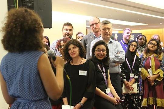 Lần đầu tiên Việt Nam có 2 đại diện trẻ tham dự hội nghị truyền thông quốc tế