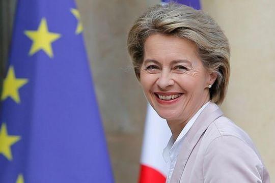 Nữ Bộ trưởng Quốc phòng Đức được bầu làm Chủ tịch Ủy ban châu Âu