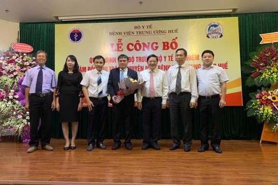 Tiến sĩ trẻ nhận chức Phó giám đốc Bệnh viện Trung ương Huế