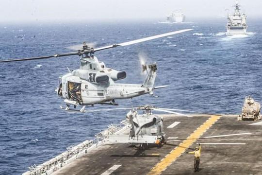Mỹ tuyên bố vừa phá hủy máy bay Iran, lo ngại căng thẳng tại Vùng Vịnh