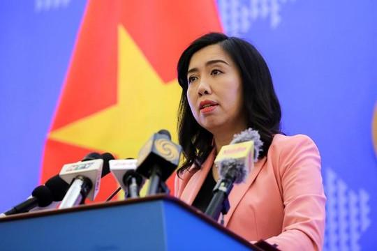 Việt Nam phản đối tàu Trung Quốc xâm phạm vùng đặc quyền kinh tế ở Biển Đông