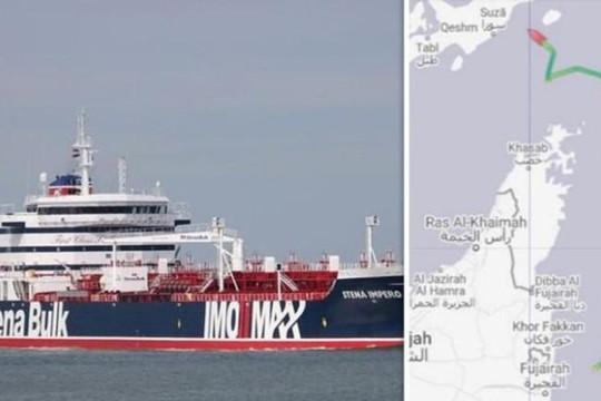 Anh, Mỹ 'nổi đóa' vì Iran bắt giữ tàu chở dầu Anh