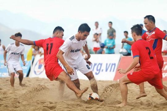 Thắng kịch tính Đà Nẵng, Khánh Hoà lên ngôi vô địch bóng đá bãi biển