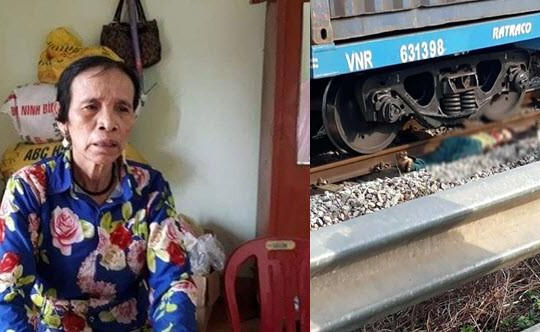 Mẹ Châu Việt Cường bị tàu hỏa tông chết khi đi nhặt ve chai