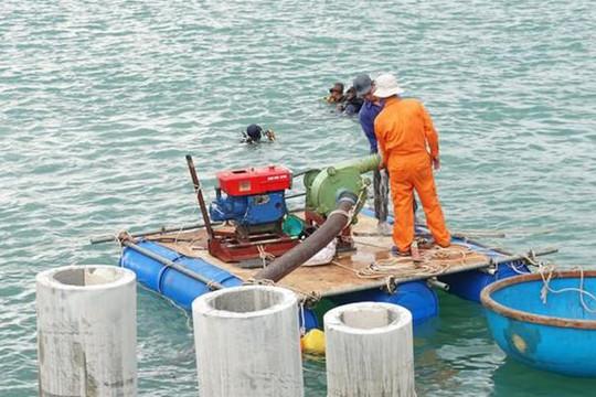 Quảng Ngãi: Khai quật tàu cổ ở Dung Quất thu được hầu hết là mảnh vỡ