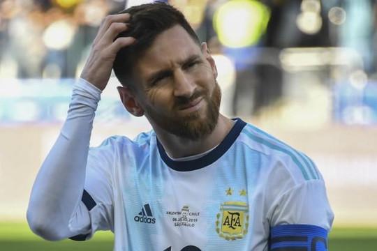 Nói xấu Liên đoàn Bóng đá Nam Mỹ,  Messi bị cấm thi đấu ba tháng