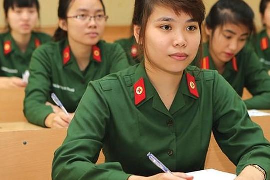 18 trường quân đội đã công bố điểm chuẩn năm 2019