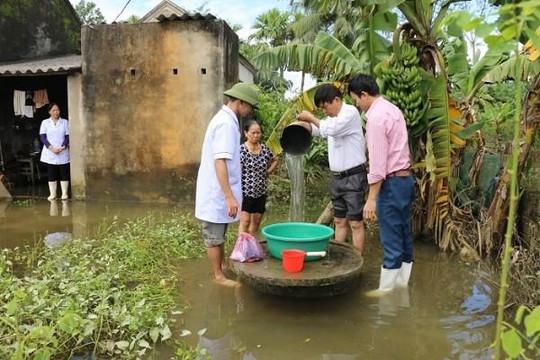Bộ Y tế đề nghị các địa phương dự trữ đủ thuốc trong mùa bão lũ năm 2019