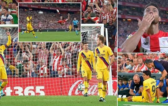Barcelona gặp ác mộng trong ngày khai mạc La Liga bởi một siêu phẩm