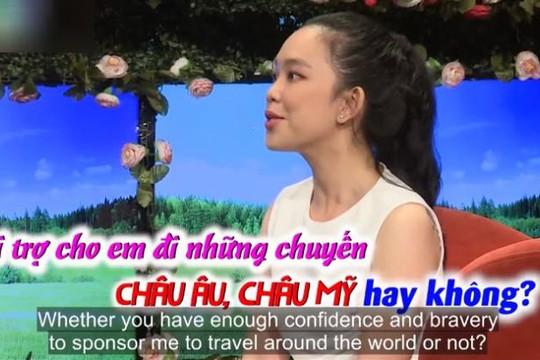 Cô gái mới gặp đòi bạn trai tài trợ đi châu Âu, hot mom Thanh Trần phản ứng bất ngờ