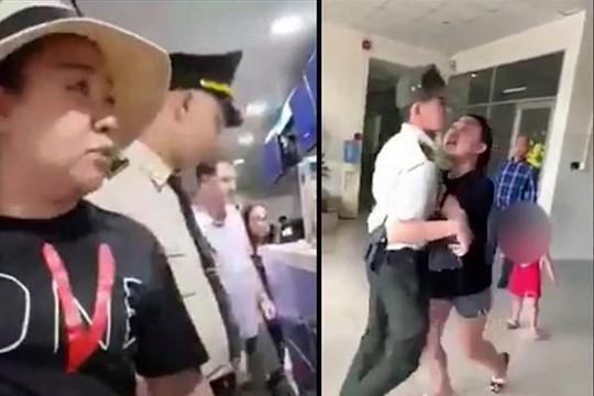 Đề xuất tạm đình chỉ với nữ công an Lê Thị Hiền gây rối tại sân bay