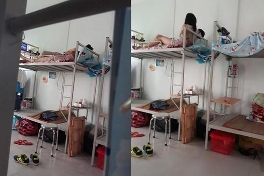 Nữ sinh không dám đi vệ sinh vì bạn thân dắt bồ về phòng trọ ăn ngủ cả tháng