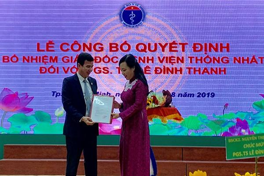 TP.HCM: Bệnh viện Thống Nhất chính thức có giám đốc mới  