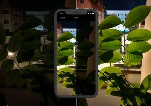20 giây để tạo một bức ảnh đẹp trên NeuralCam